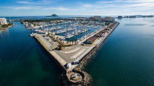 Vista aérea desde un lateral del Puerto de Tomás Maestre