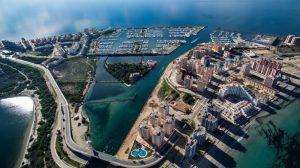 Puerto Tomás Maestre vista aérea